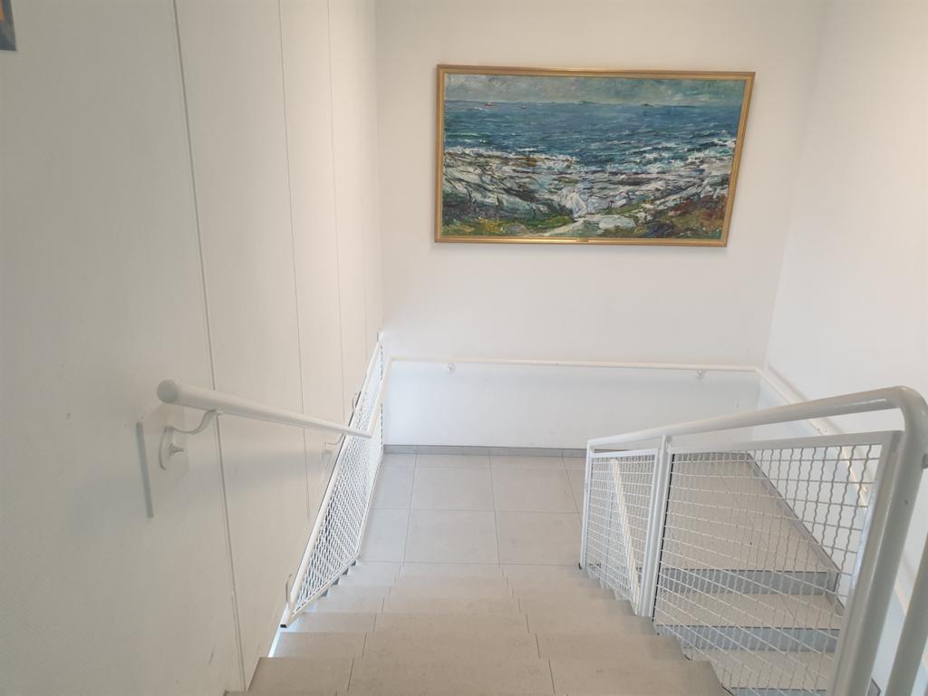 Næringsbygg Lagerveien - Fliser i trapper
